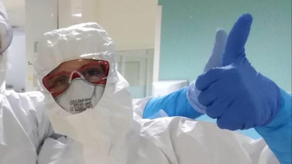 Anestesista al lavoro
