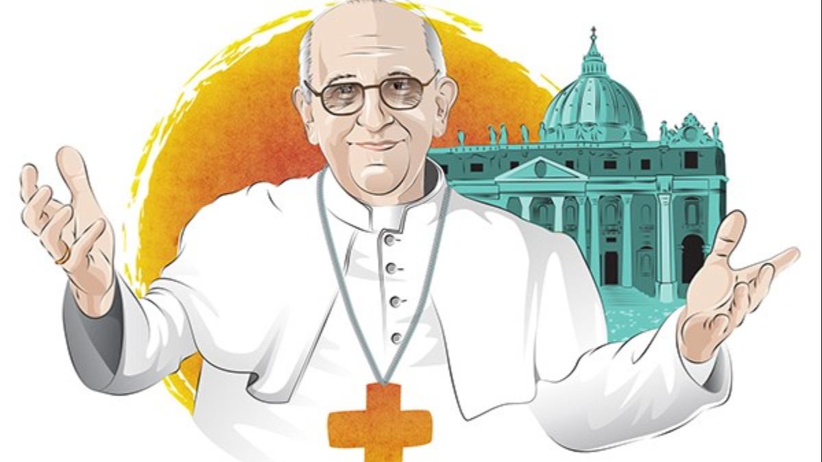 Viñeta del Papa
